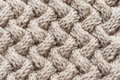 Basket weave knit pattern Royalty Free Stock Photo