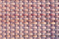 Basket weave patterns with natural Royalty Free Stock Photos