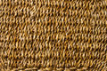 Basket wicker braid weave texture, straw macro background Royalty Free Stock Photo