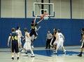Basketball Action Stock Photography