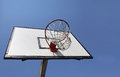 Basketball backboard Stock Image