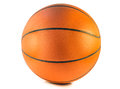 Basketball or basket ball isolated on the white background Royalty Free Stock Images