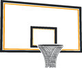 Basketball basket for game in on a white background Stock Image