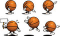 Basketball Character Royalty Free Stock Photo