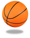 Basketball with clipping path Stock Photo