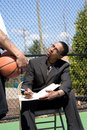 Basketball Coaching Stock Images