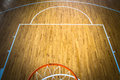 Basketball court indoor Royalty Free Stock Photo
