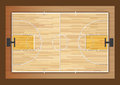 Basketball court vector illustration background stadium Stock Photography