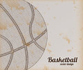 Basketball design over vintage background vector illustration Stock Image