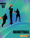Basketball design poster Stock Photo