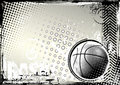 Basketball grunge background Royalty Free Stock Images