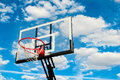 Basketball Hoop Backboard Royalty Free Stock Images