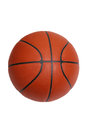 Basketball isolated on white with clipping path Royalty Free Stock Photos