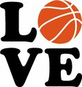 Basketball Love Royalty Free Stock Photo