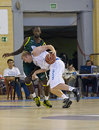 Basketball match, Cup Andalucia 2012 Stock Image
