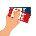 basketball match tickets icon