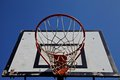 Basketball Net Stock Photography