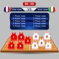 Basketball Player Lineup And C...