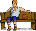 Basketball Player Resting Stock Photos
