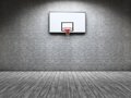 Basketball room Stock Image