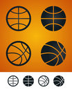 Basketball sign Royalty Free Stock Image