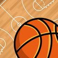 Basketball sport emblem icon