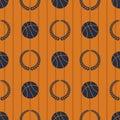 Basketball Sport Seamless Patt...