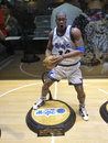 Basketball star Shaquille O neal figure Royalty Free Stock Photo