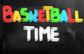 Basketball Time Concept Royalty Free Stock Photo