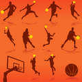 Basketball vector Royalty Free Stock Photos