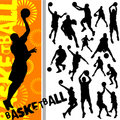 Basketball vector Stock Photos