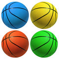 Basketballs Stock Image