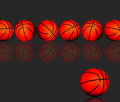 Basketballs. Royalty Free Stock Photo