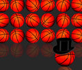 Basketballs. Royalty Free Stock Image
