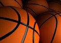 Basketballs Closeup Royalty Free Stock Images
