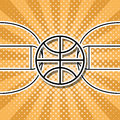 Basketsymbol Royaltyfria Bilder