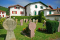 Basque cemetery Stock Photography