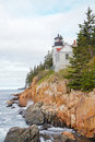 Bass Harbor Head Light Royalty Free Stock Photo