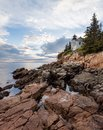 Bass Harbor Light in Maine