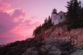 Bass harbor lighthouse Royalty Free Stock Photo