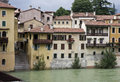 Bassano del Grappa town Stock Photography