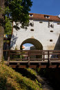 Bastion de greffe - Brasov Photos stock