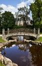 Bastion Hill Park in Riga Royalty Free Stock Photo