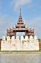 A Bastion at the Mandalay Palace