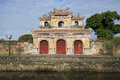 Bastion of the West gate. Forbidden Purple city in Hue Royalty Free Stock Photo