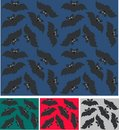 Bat seamless children pattern Stock Photography