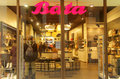 Bata shop in the fashion district in milan italy Royalty Free Stock Photos
