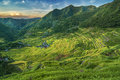 Batad rice terraces located in banaue ifugao in the philippines is a world heritage site including other in other Stock Images