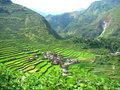 Batad Rice Terraces Village Royalty Free Stock Photo