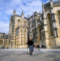 Batalha Abbey in Portugal Stock Images